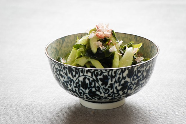 Arame salad in bowl