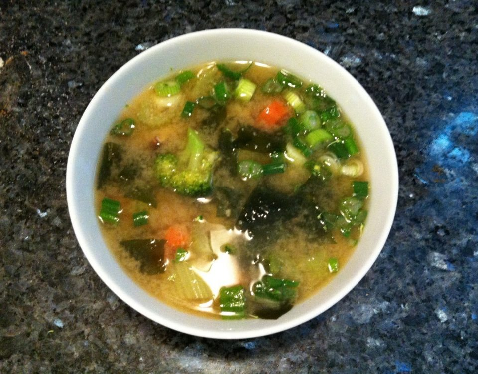 Miso Soup in Bowl