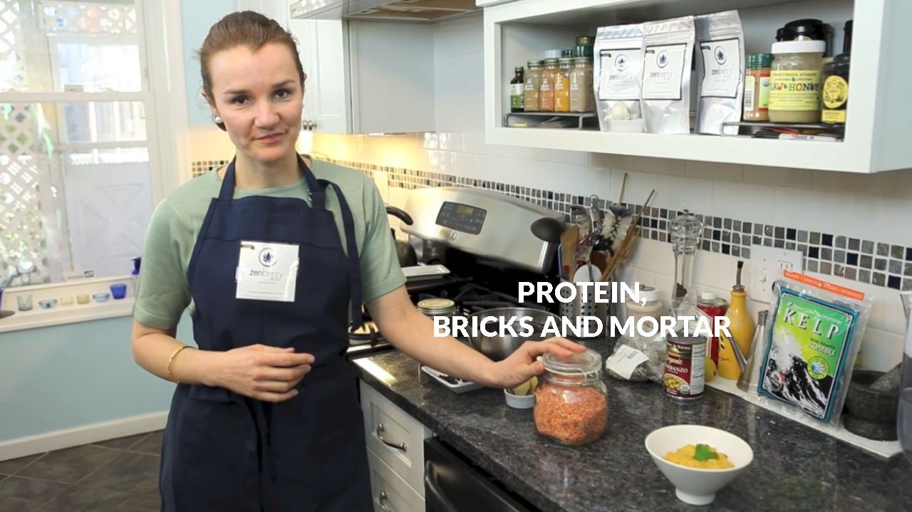 Protein, bricks and mortar 2