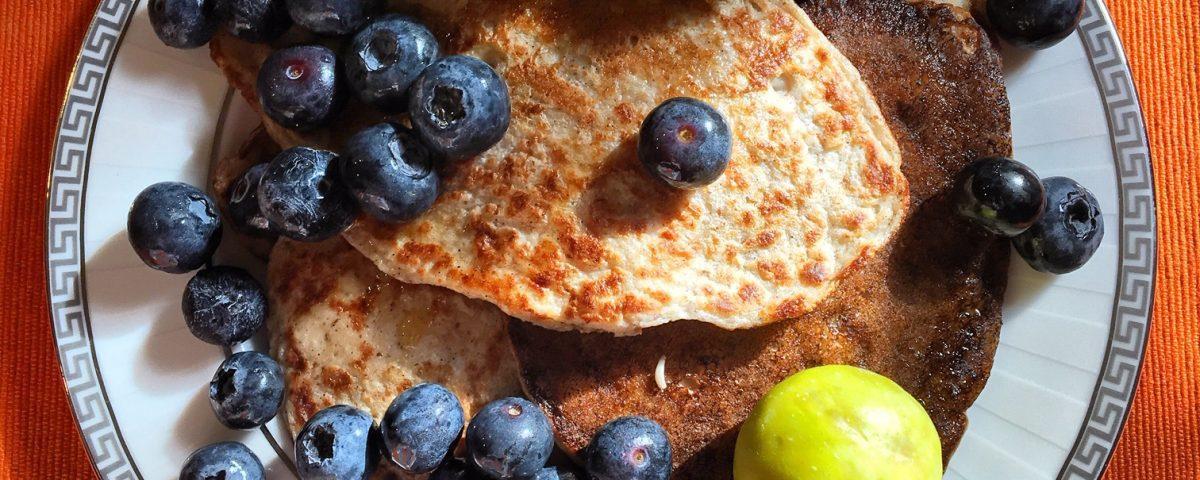 Four Ingredient Vegan Pancakes